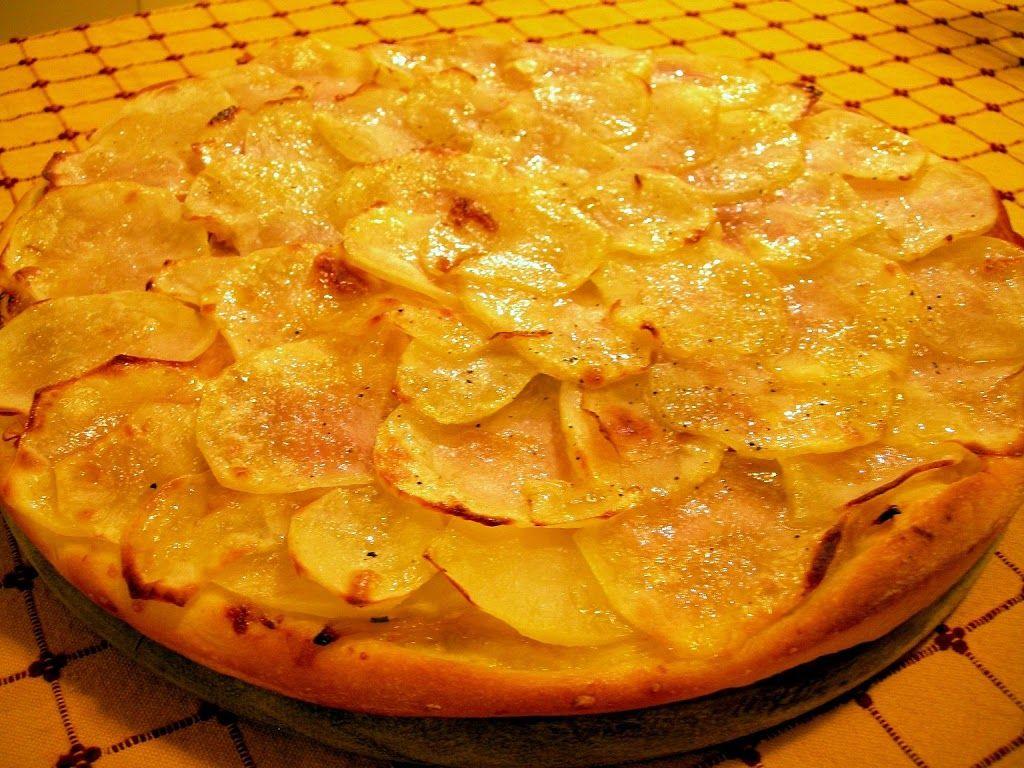 L'impasto alle tre farine e la pizza con le patate