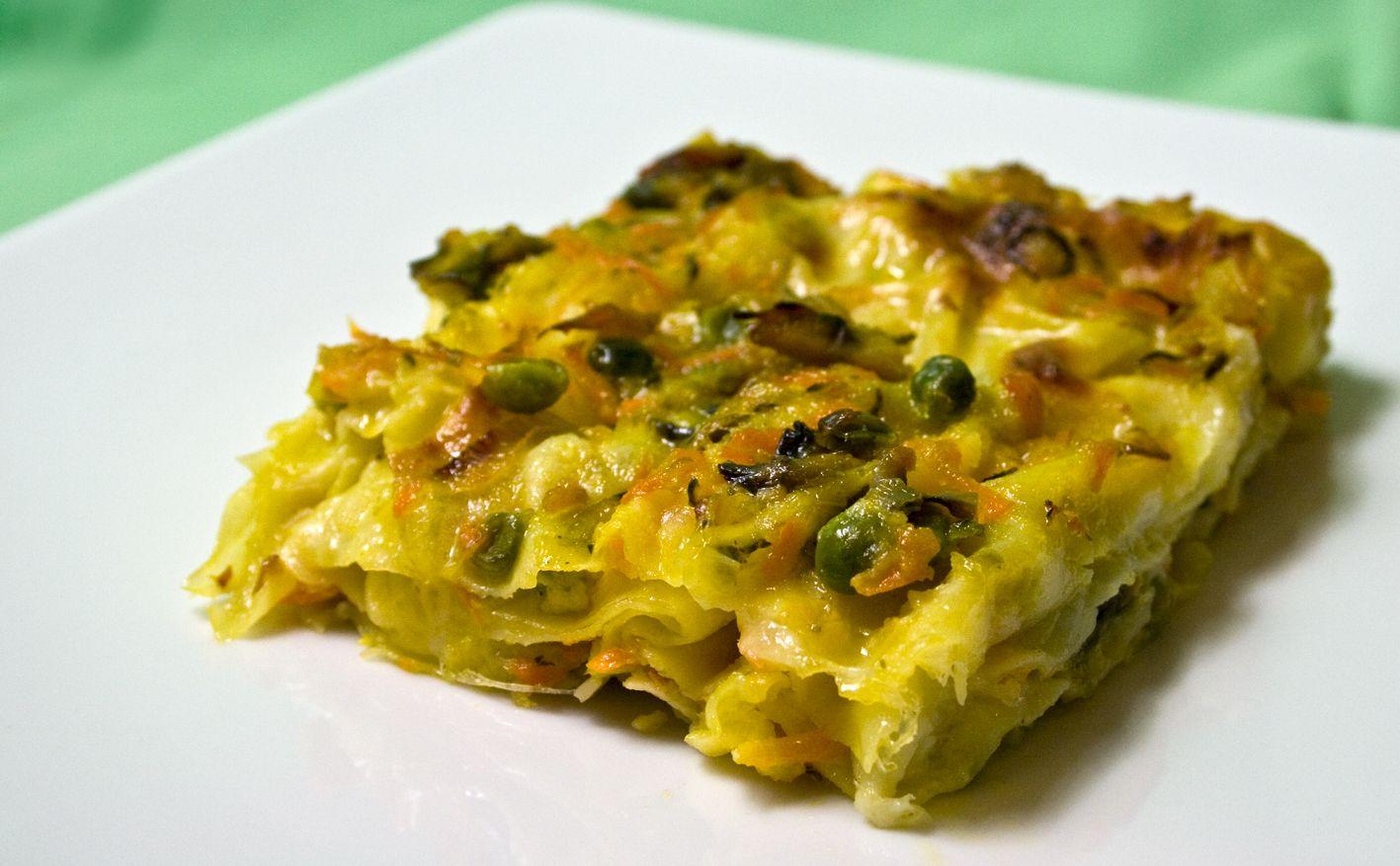 Lasagne con pasticcio di verdure alla mozzarella di bufala for Ricette vegetariane