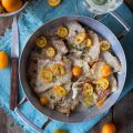 Scaloppine al vino bianco con Kumquat