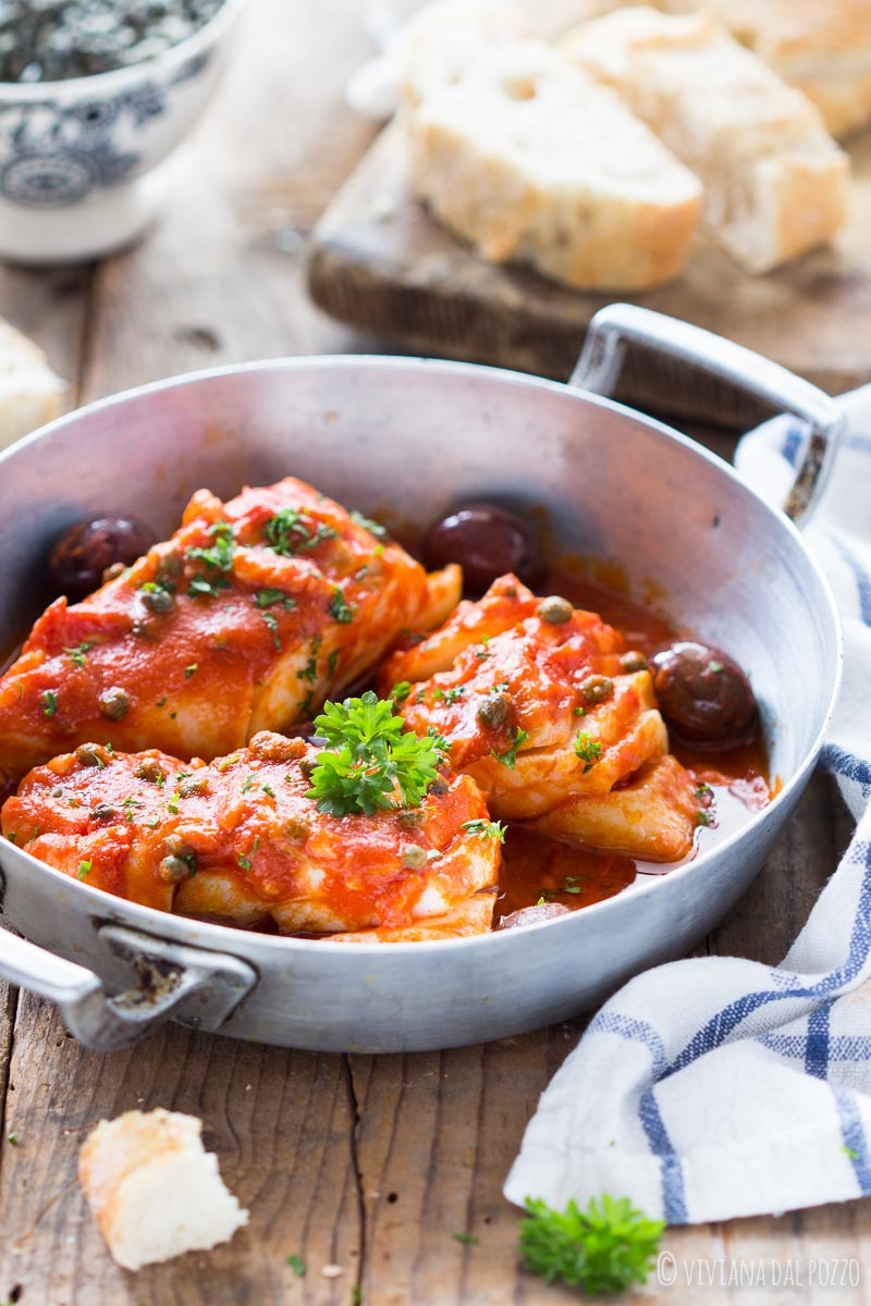 Merluzzo In Umido Alla Mediterranea Cosa Ti Preparo Per Cena