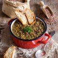 Zuppa di lenticchie la ricetta per Capodanno