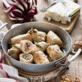 Involtini di Tacchino con radicchio e gorgonzola