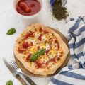 Pizza al piatto come in pizzeria