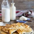 Focaccia col formaggio di Recco, o meglio Tipo Recco.