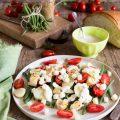 Insalata Gustosa alla senape con Freschi Cubetti pollo e fagiolini